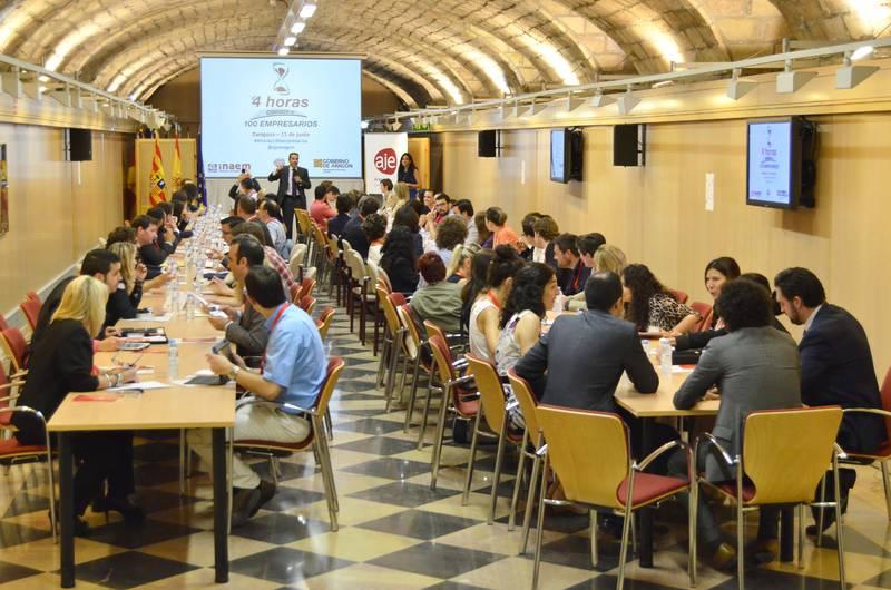 Networking Zaragoza, conoce a 100 empresarios en 4 horas