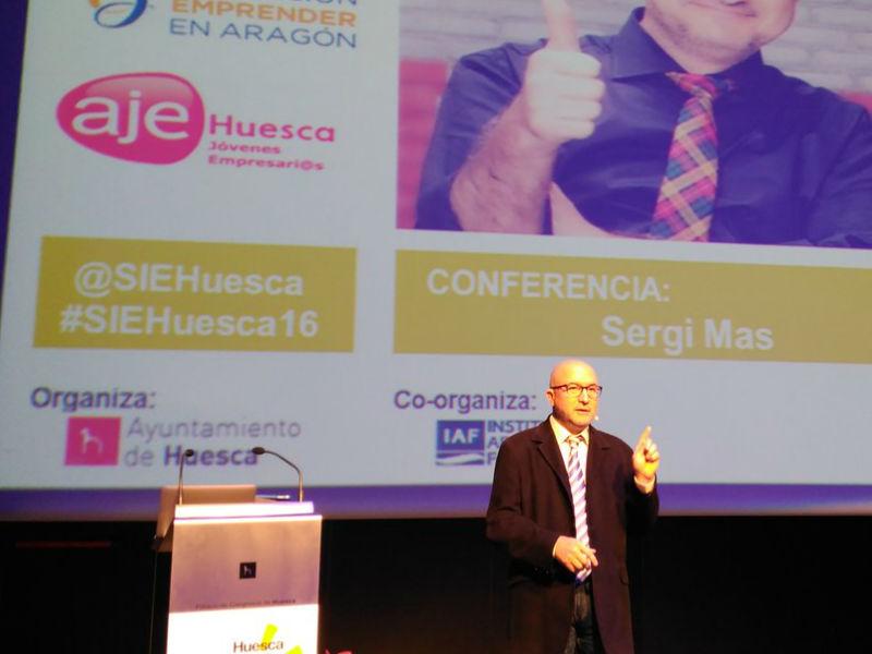 Conferencia de Sergi Mas en el SIE 2016