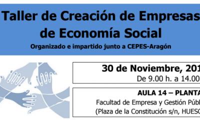 Taller de Creación de Empresas de Economía Social