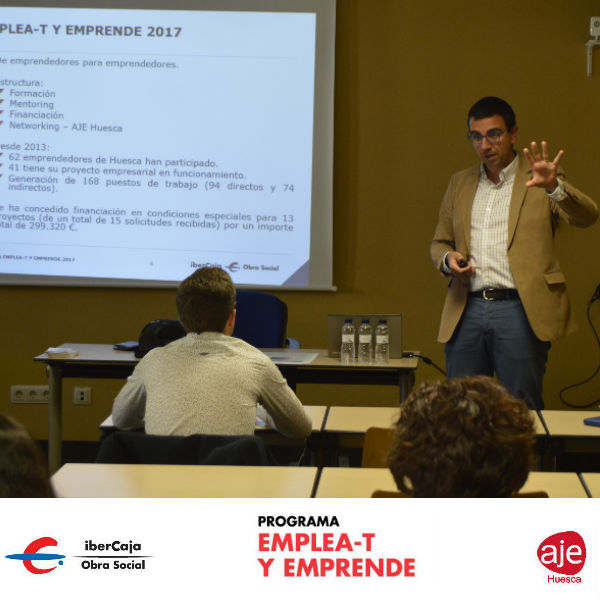 Presentación Programa INICIA-T y EMPRENDE con Obra Social Ibercaja
